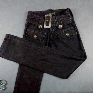 Parasuco Denim Cult Faux Wide Belt Jeans Size 27